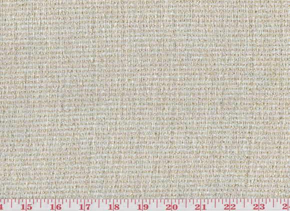 Pebble Path CL White Boucle Upholstery Fabric by American Silk Mills