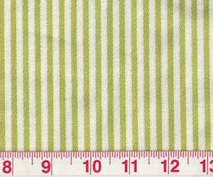 Good Lookin' Stripe CL Sprout Upholstery Fabric by P Kaufmann