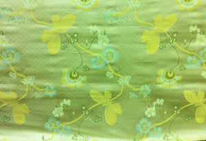Le Jardin CL Pearl Silk Upholstery Fabric by American Silk Mills