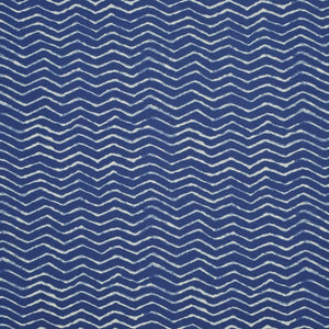 Clovis Herringbone CL Cobalt Outdoor Drapery Upholstery Fabric by Ralph Lauren