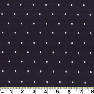 Cobblestone CL Black Drapery Upholstery Fabric by Roth & Tompkins