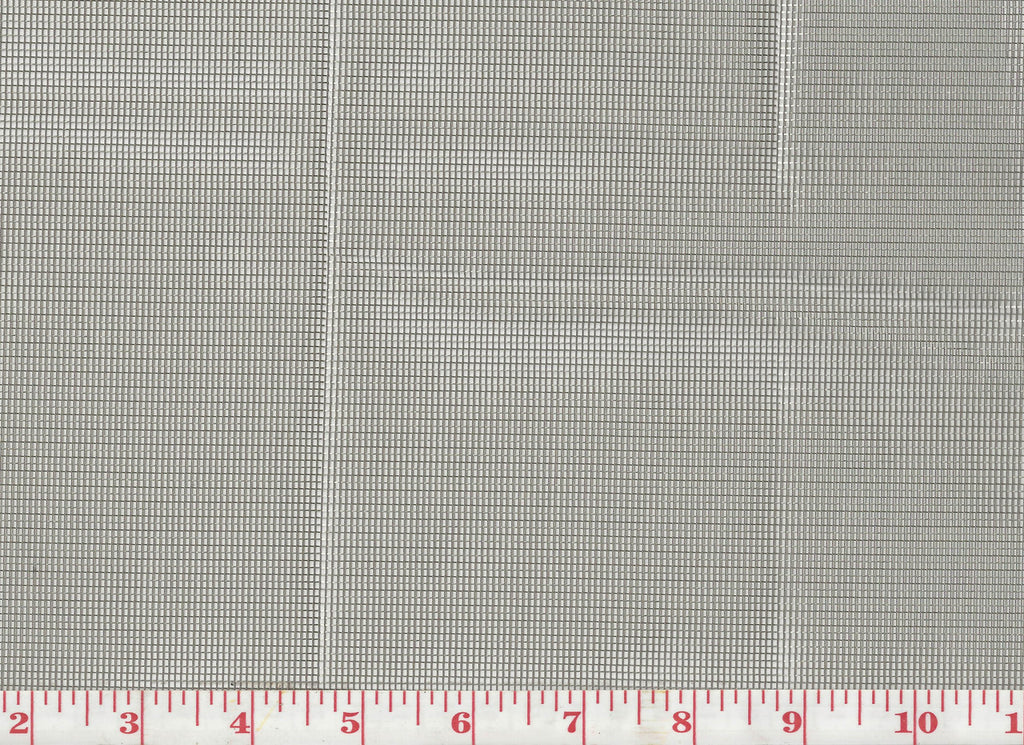 Stainless Steel CL Zinc Metallic Sheer Drapery Fabric by Clarence House