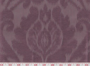 Manchuria CL Plum Drapery Upholstery Fabric by American Silk Mills