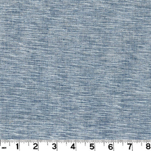 Grasscloth CL Indigo Upholstery Fabric by Roth & Tompkins
