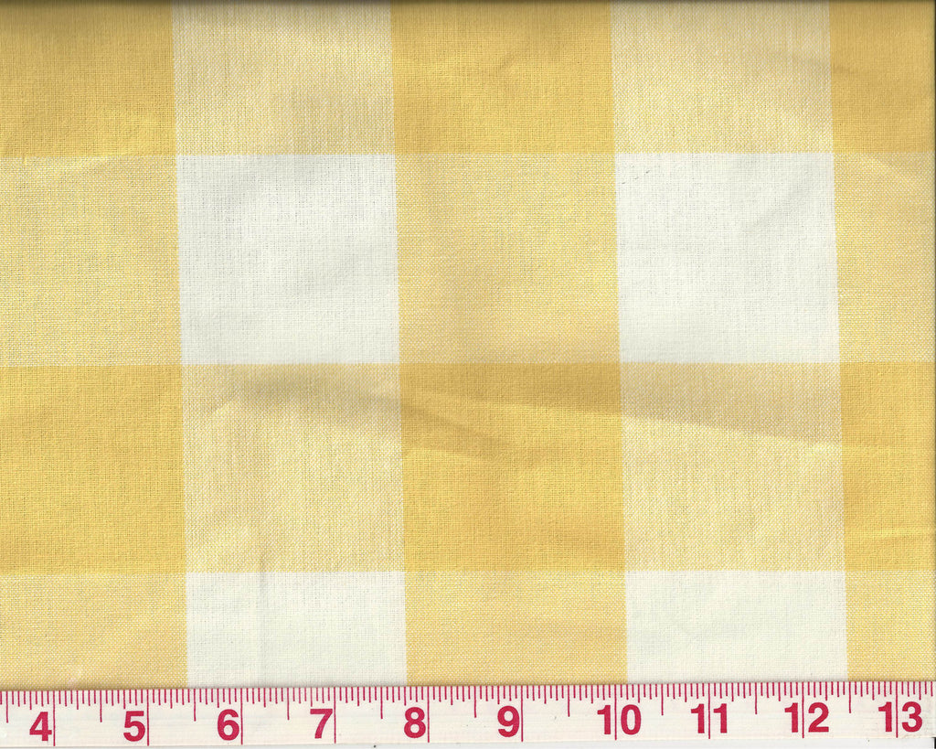 Checkmate CL Sunshine Upholstery Fabric by P Kaufmann