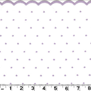Nantucket CL Lilac Drapery Fabric by Roth & Tompkins