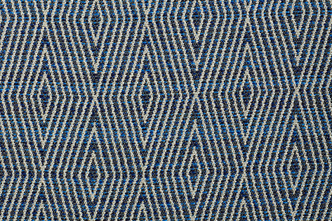 Dart CL Indigo Indoor Outdoor Upholstery Fabric by Bella Dura