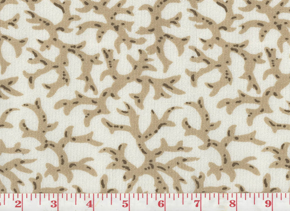 Coral CL Stone Outdoor Upholstery Fabric by Clarence House