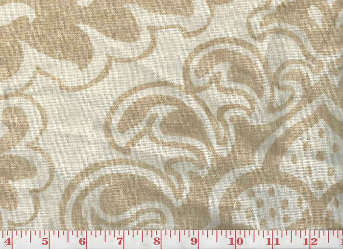 Sardinia CL Beige Drapery Upholstery Fabric by Clarence House