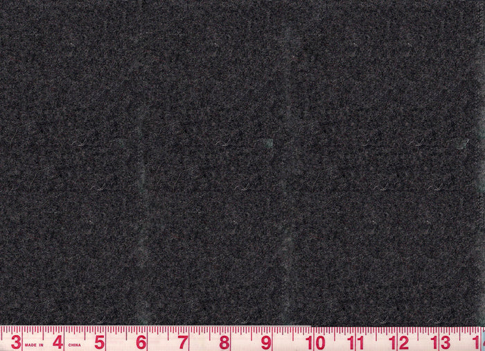 Worth CL Charcoal Gray Wool Upholstery Fabric