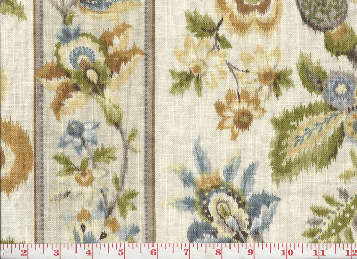 Satin Stitch CL Amber Upholstery Drapery Fabric by P Kaufmann