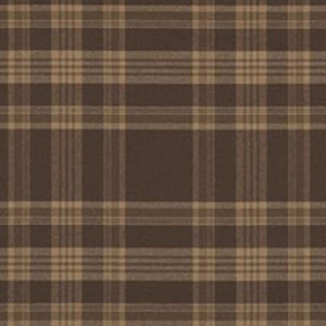 Deerpath Trail Plaid CL Russet Upholstery Fabric by Ralph Lauren