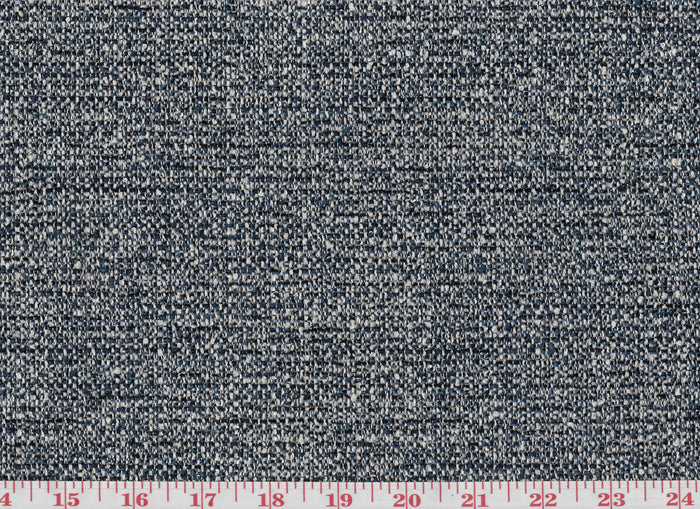 Pebble Path CL Midnight Boucle Upholstery Fabric by American Silk Mills