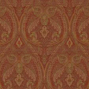 Dorchester Paisley CL Bordeaux Drapery Upholstery Fabric by Ralph Lauren