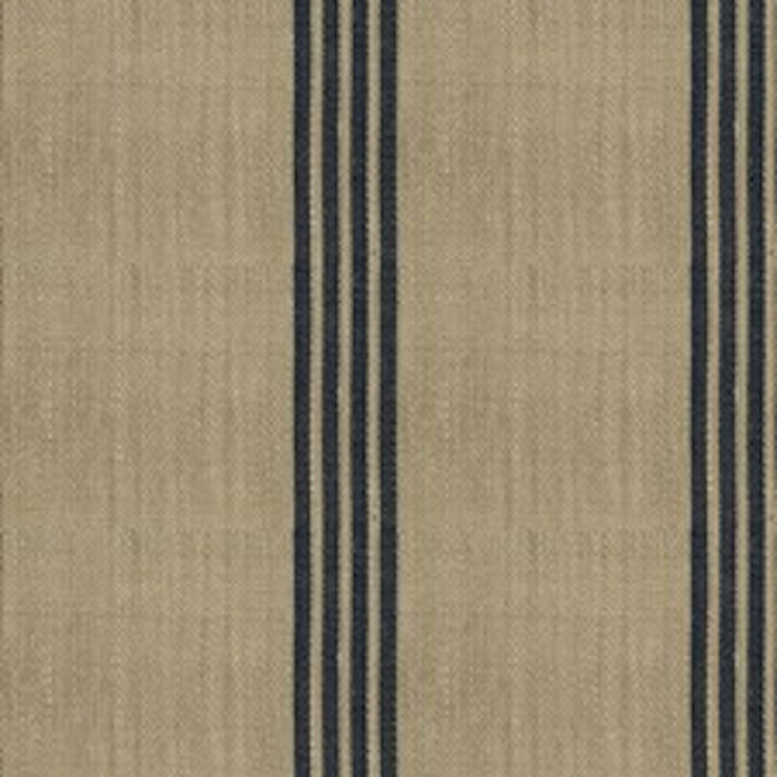 Driftwood Stripe CL Squid Ink Drapery Upholstery Fabric by Ralph Lauren
