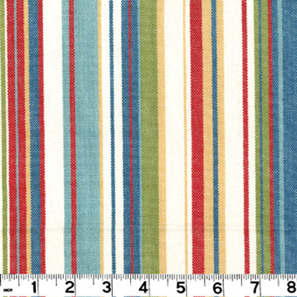 Victoria CL Primary Stripe Upholstery Fabric by Roth & Tompkins