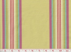 Sussex Stripe CL Blossom Drapery Fabric by PK Lifestyles