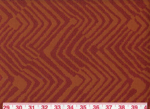 Baroda CL Chili Upholstery Fabric by Braemore Textiles