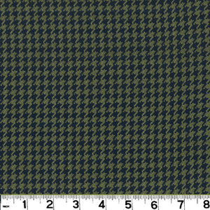 Houndstooth CL Midnight Upholstery Fabric by Roth & Tompkins