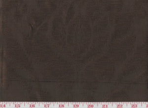 Manchuria CL Chocolate Drapery Upholstery Fabric by American Silk Mills