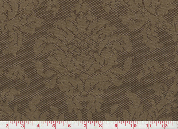 Ella CL Chocolate Drapery Upholstery Fabric by Roth & Tompkins