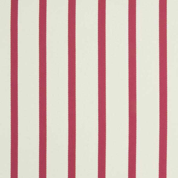 Edgewater Stripe CL Begonia Drapery Upholstery Fabric by Ralph Lauren