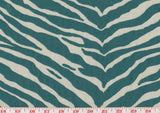 Denizen CL Teal Reversible Drapery Upholstery Fabric by Golding Fabrics