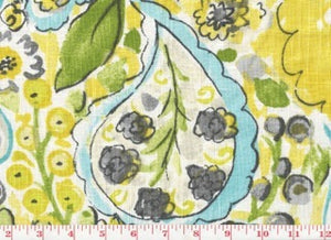 Sweet Summer CL Lemon Meringue Drapery Fabric by PK Lifestyles