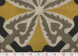 Antalya CL Mustard Upholstery Fabric by Clarence House