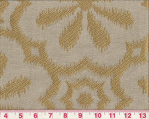 Mod Metal CL Gold Upholstery Fabric by PK Lifestyles