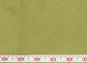 GEM 39 Suede CL Lime Upholstery Fabric by KasLen Textiles