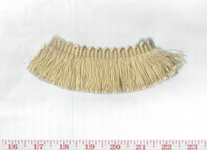 Domino Brushed Fringe CL Butter Fabric Trim by Clarence House