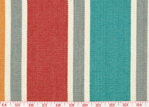 Pippin Stripe CL Multi Upholstery Fabric by Clarence House