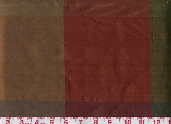 Bengal CL Apache Silk Drapery Fabric by American Silk Mills