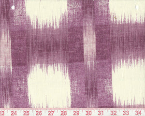 Raleigh Ikat CL Plum Upholstery Fabric by PK Lifestyles