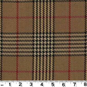 Newbury CL Walnut Upholstery Fabric by Roth & Tompkins