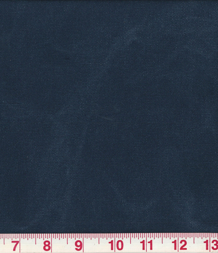 Washed Canvas CL Insignia Blue (255) Canvas Upholstery Fabric