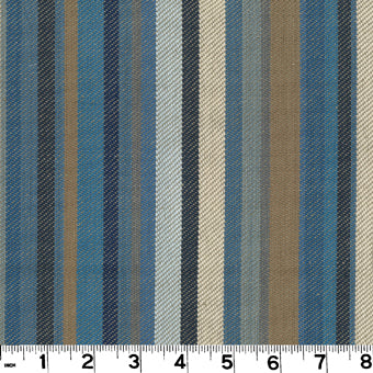 Edwin CL Lake Drapery Upholstery Fabric by Roth & Tompkins