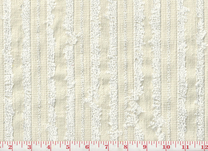 Happiness CL Ivory Drapery Fabric by P Kaufmann