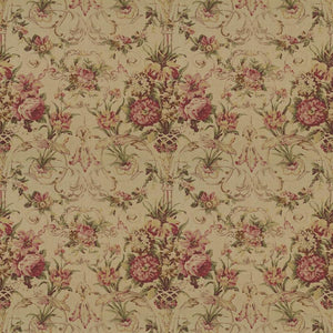 Guinevere Floral CL Tea Drapery Upholstery Fabric by Ralph Lauren