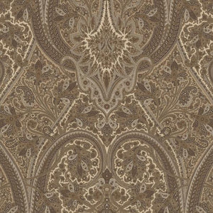Havergate Paisley CL Sparrow Drapery Upholstery Fabric by Ralph Lauren