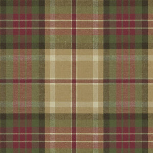 Holt Plaid CL Tea Drapery Upholstery Fabric by Ralph Lauren