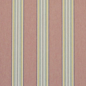 Hook Pond Stripe CL Sunbaked Red Outdoor Upholstery Fabric by Ralph Lauren