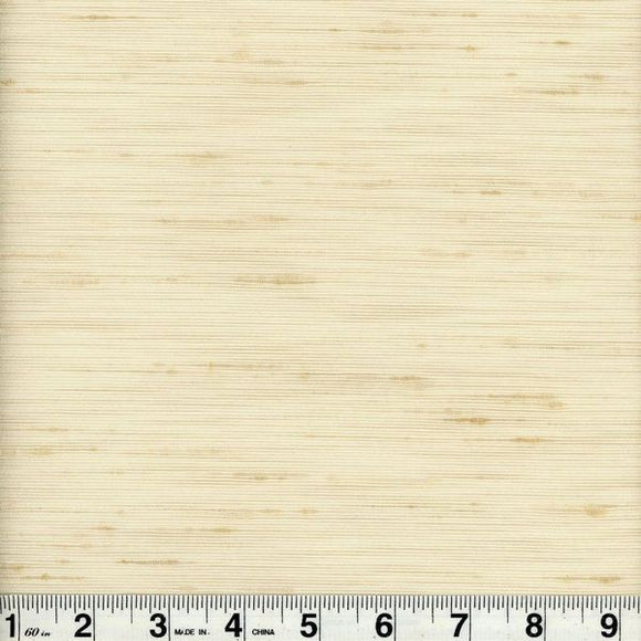 Bancroft CL Sand Drapery Upholstery Fabric by Roth & Tompkins