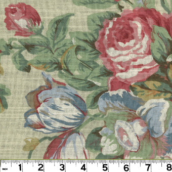 English Garden CL Spring Upholstery Fabric by Roth & Tompkins