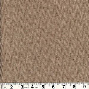 Alexander CL Taupe Drapery Upholstery Fabric by Roth & Tompkins