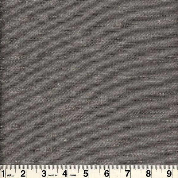 Bancroft CL Grey Drapery Upholstery Fabric by Roth & Tompkins