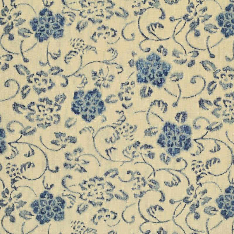 Kotori Floral CL Porcelain Drapery Upholstery Fabric by Ralph Lauren