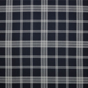 Landing Road Check CL Denim Outdoor Drapery Upholstery Fabric by Ralph Lauren