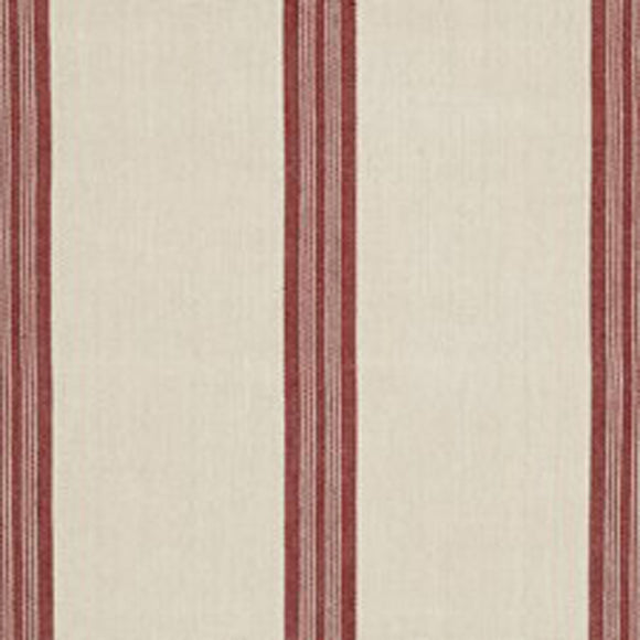 LeBlanc Stripe CL Madder Upholstery Fabric by Ralph Lauren